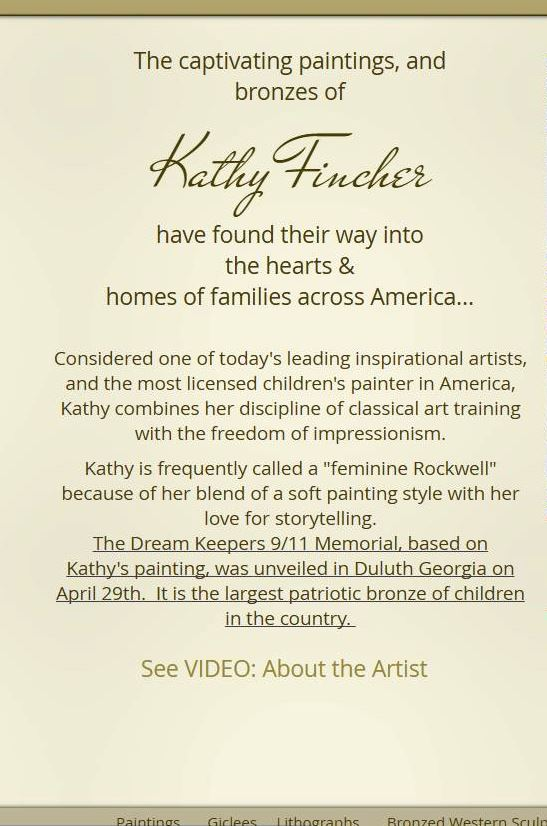 KATHY FINCHER WEBSITE
