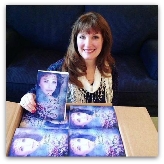 Dawn Kinzer - novel arrives - shadow box